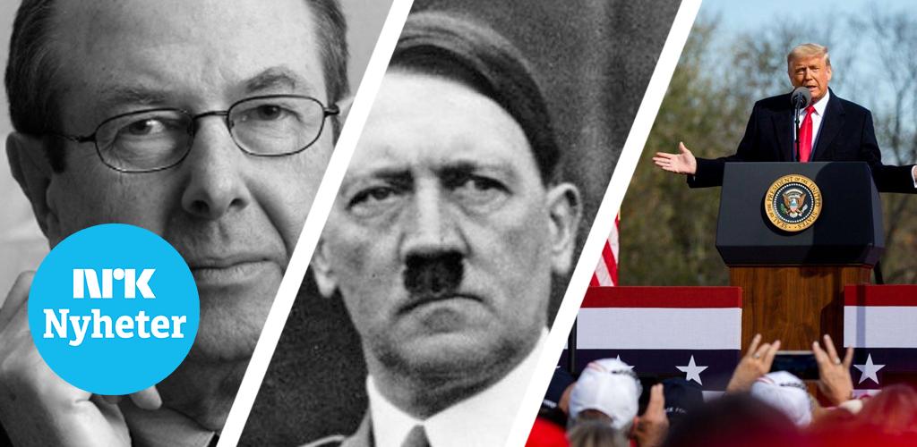 Er det parallell mellom Trump og Hitler?