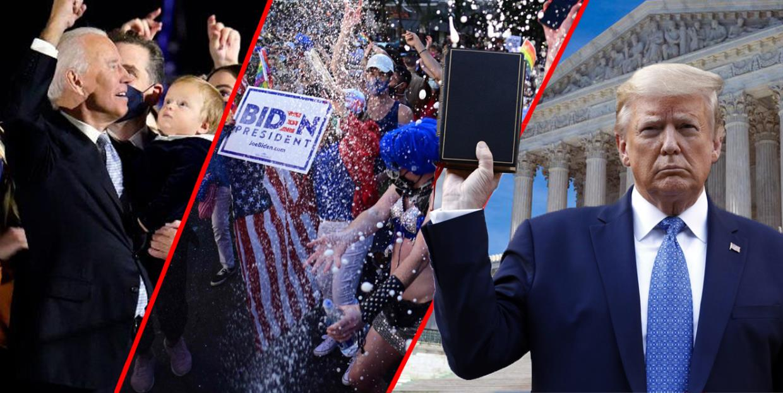 Er det risiko for at Donald Trump vil nekte å gå av etter valget?